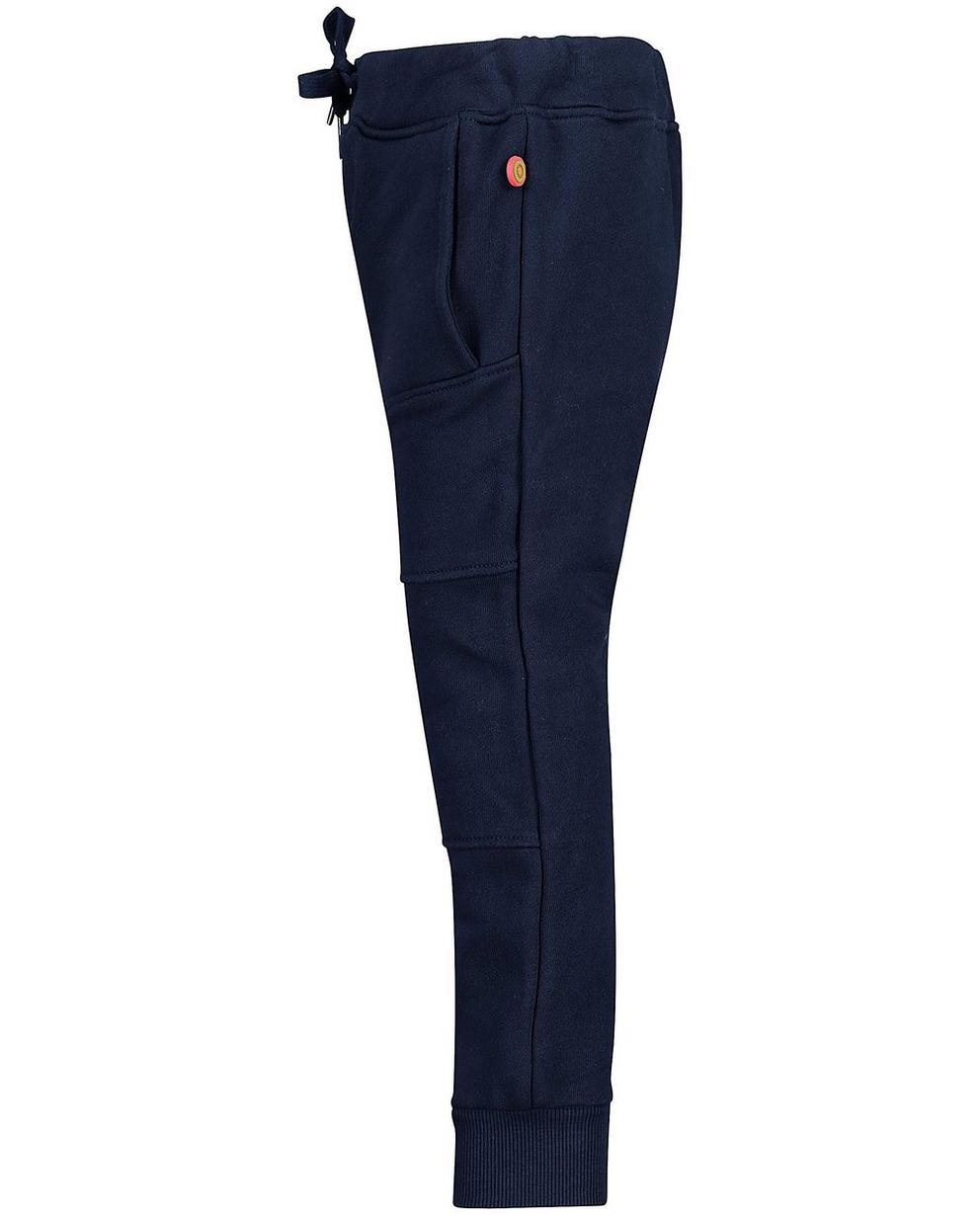 Pantalons - navy - Nachtblauwe sweatbroek